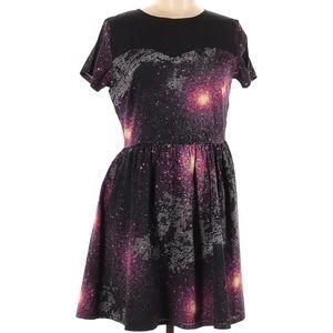Sugarhill Boutique Galaxy Dress Space Stars Size 8